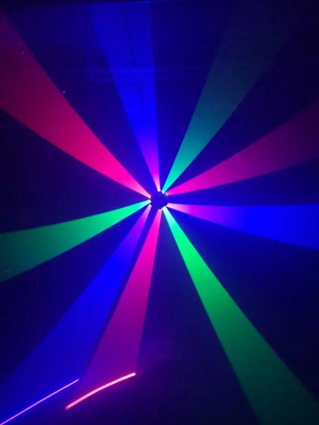 3 Heads Laser Moving Head Spider Light