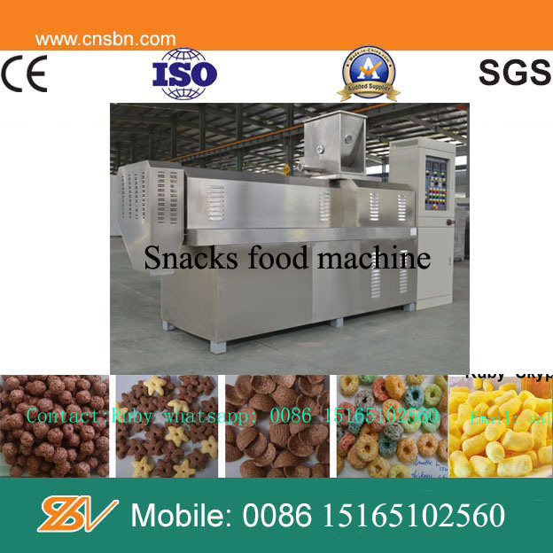 Industrial Automatic Kelloggs Corn Flakes Machine