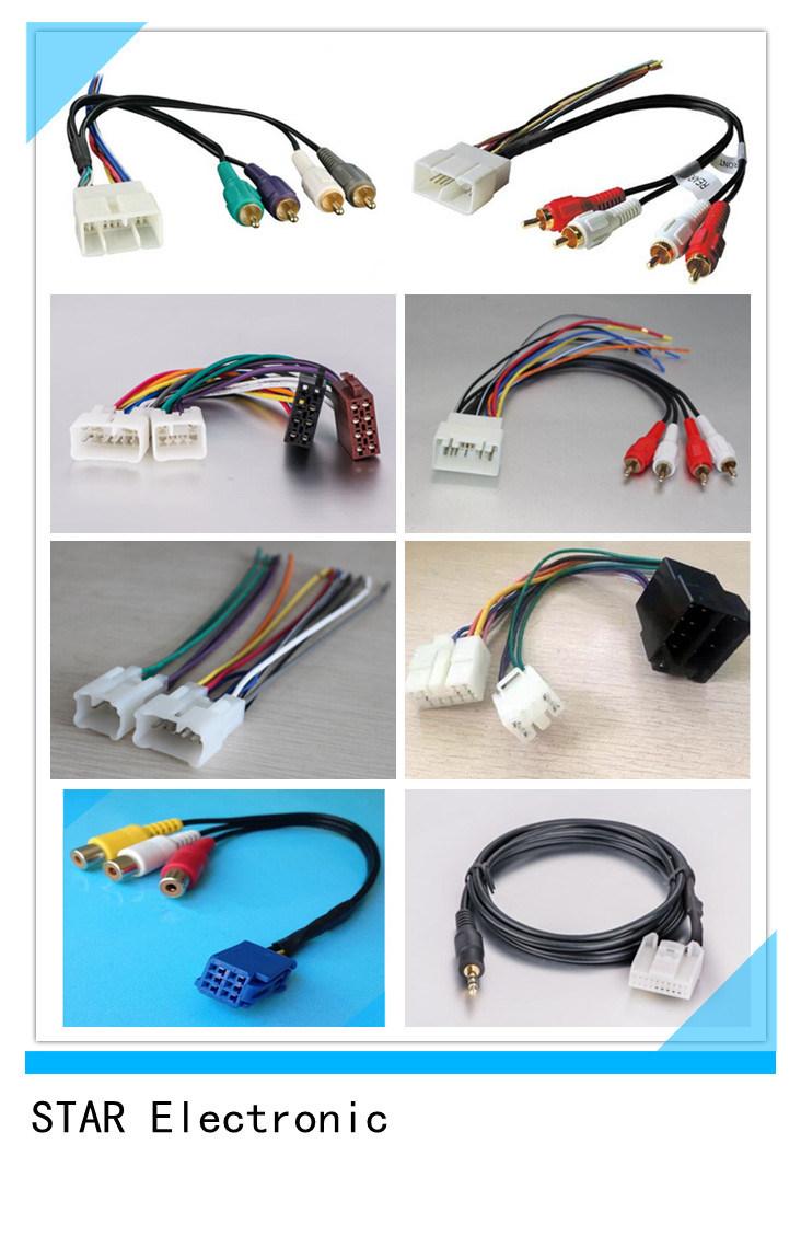 Factory Custom Toyota Automotive Wire Harness