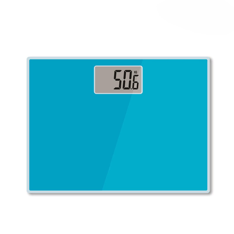 Digital Large LCD Display Electronic Weighing Scale with Glass Platform