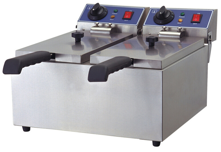 Hot Sale CE Stainless Steel Electric Deep Fryers for Chiken