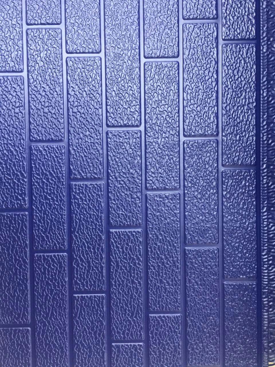 Embossing Metal PU Foam Decorative Wall Panel