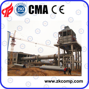 The Whole Process Flow of Lime Plant Equipment