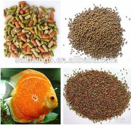 Excellent Quality Pelleted Floating Fish Feed Machinery