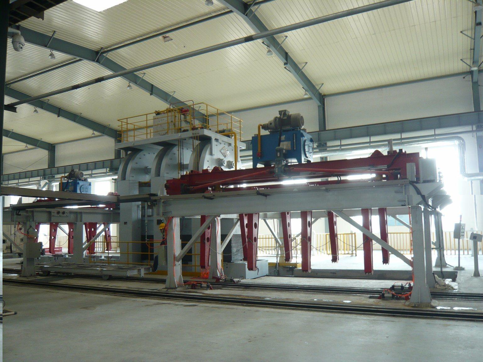 14000t Hydraulic Press for Pressing Fiber Cement Board
