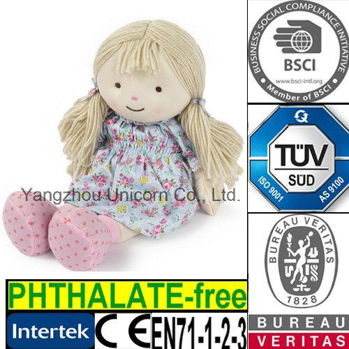 CE Soft Stuffed Animal Doll Plush Toy