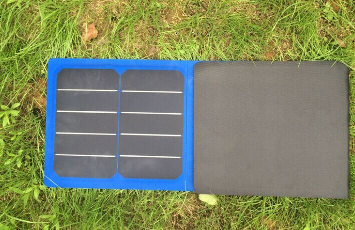 60W Sunpower Flexible Solar Mobile Phone Charger Bag