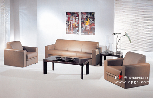 Furniture Sofa, Modern Leather Sofa, Sofa Set Leather Genuine Guangzhou (FS-08)