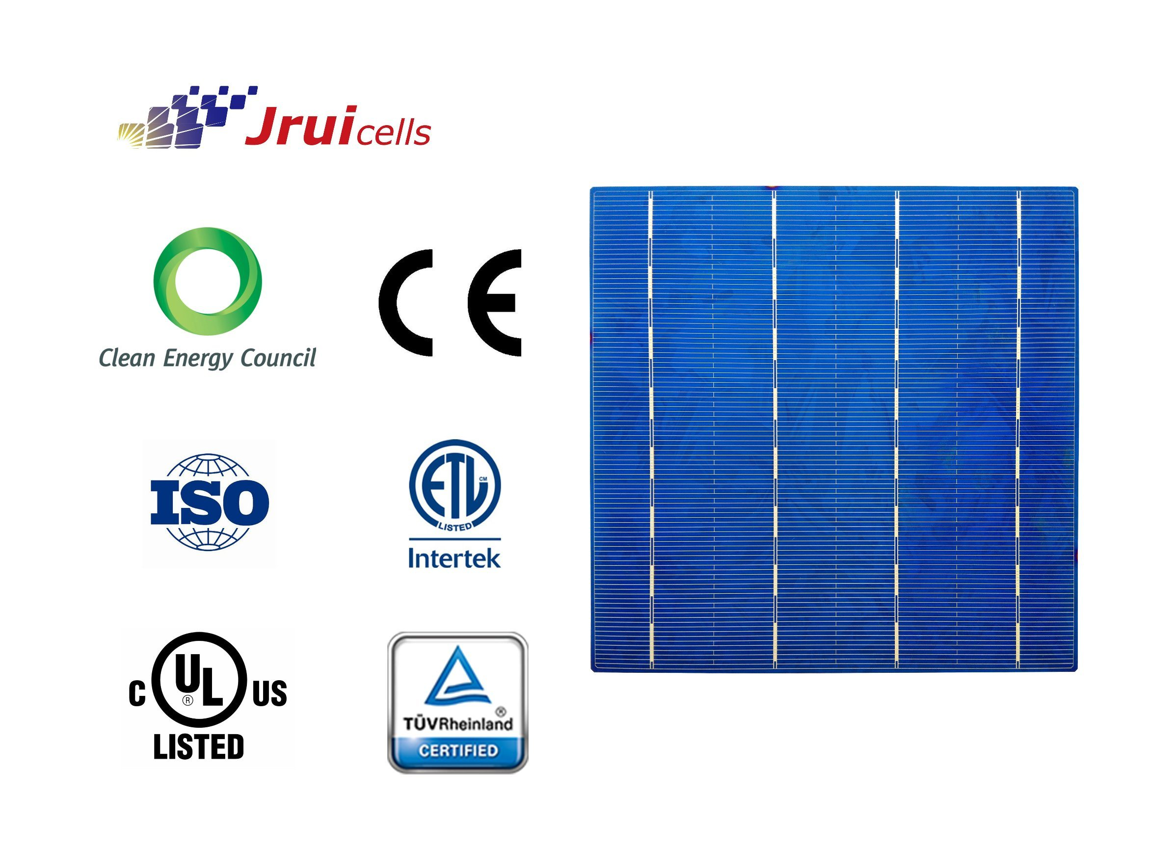 Pid Resistant Polycrystalline Silicon PV Solar Cells