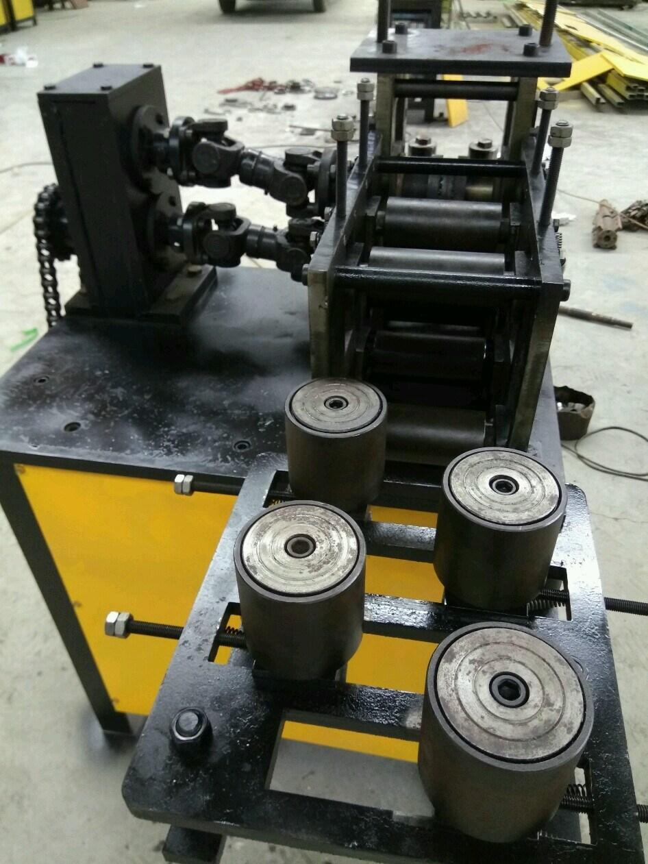 Wrought Iron Embossing Machine/Square Tube Hammered Edge Embossing Machine