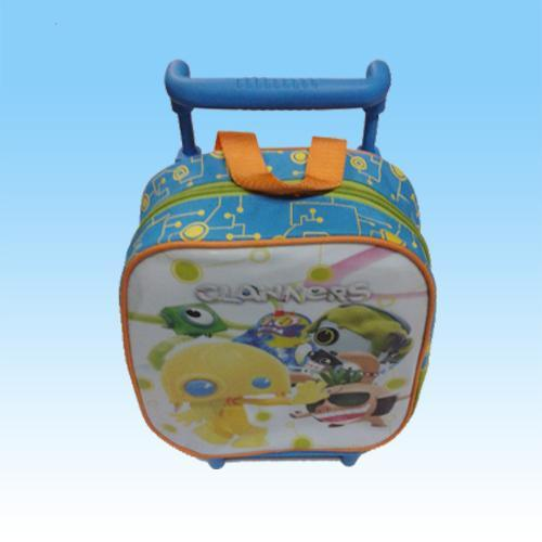 2017 Fashion Polyester Cartoon Trolley Student Children School Bags