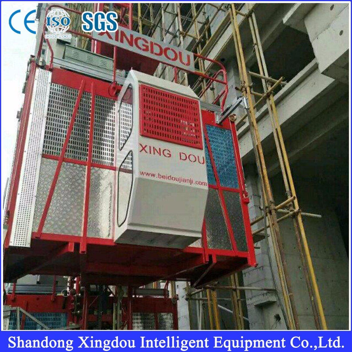 Ce Approved Sc200/200td Construction Hoist / Building Hoist