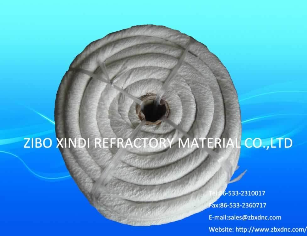 Ceramic Fiber Rope - Round Braided 1260c
