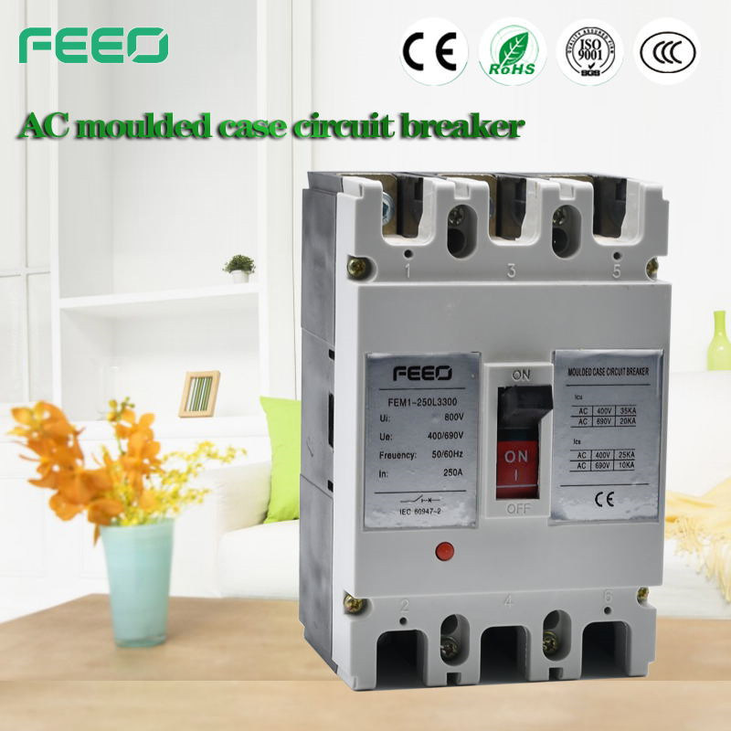 250A 3p Moulded Case Circuit Breaker MCCB