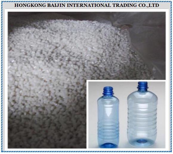 Polyethylene Terephthalate Granules / PET Resin for Water Bottles