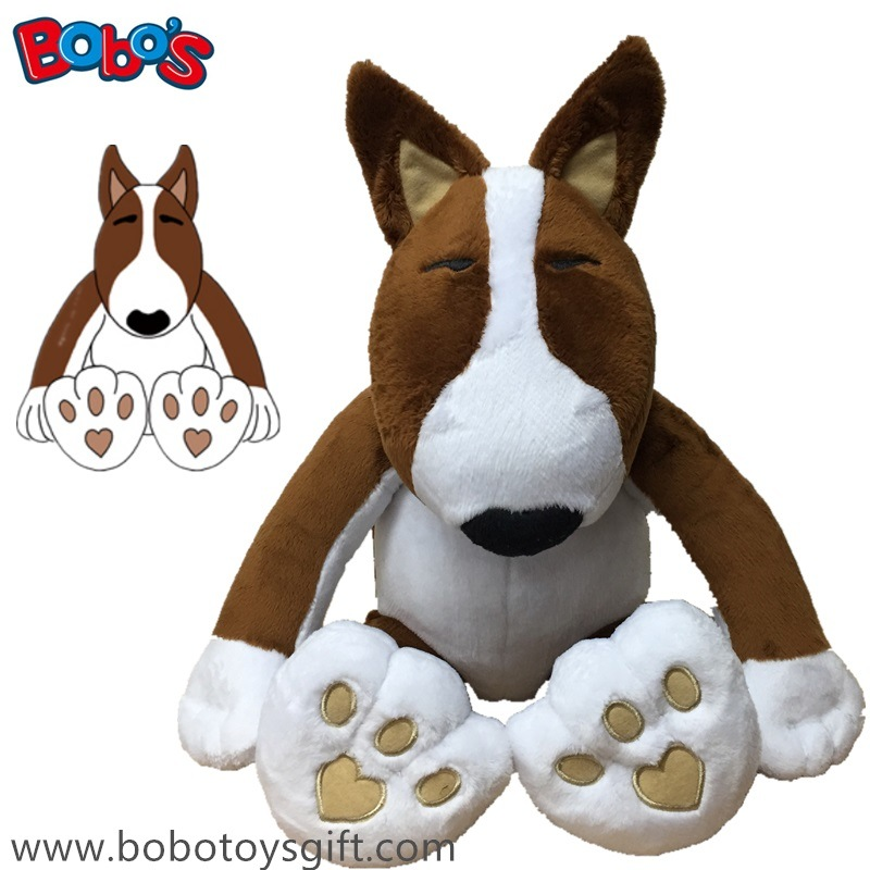 Softest Custom Plush Dog Toy Kids Toy