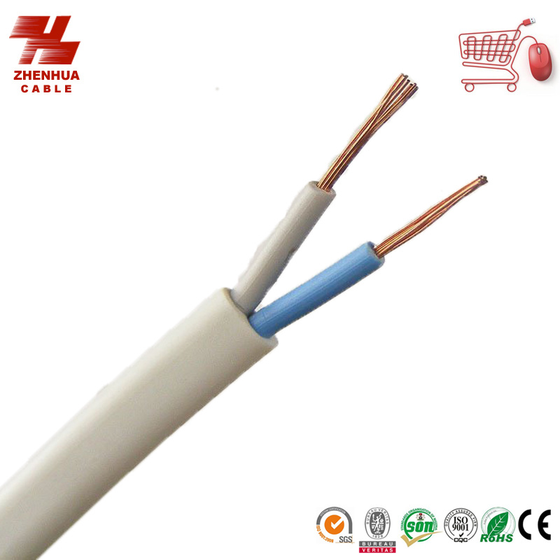 2 Core Wire : China flat core flexible wire copper cable