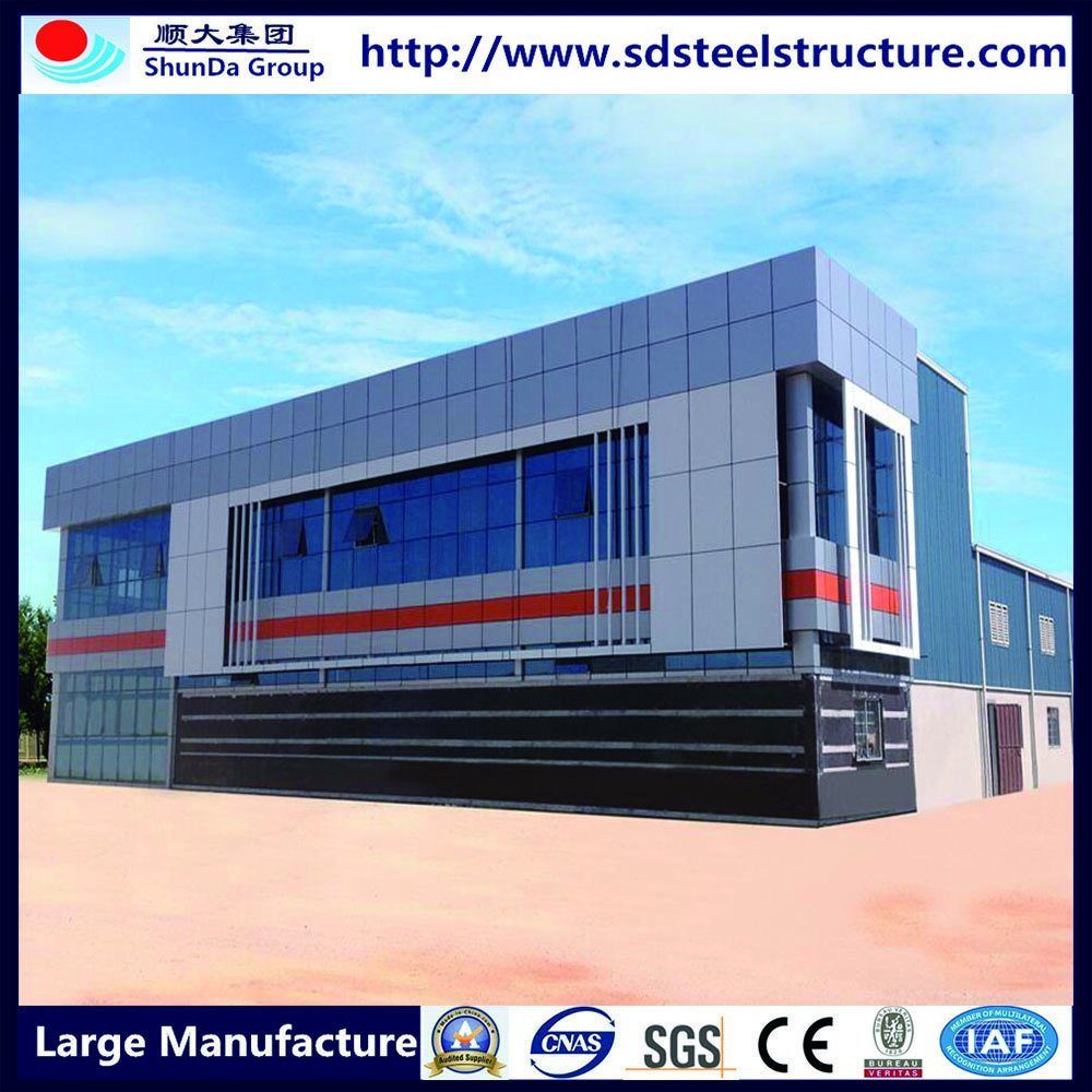 Dubai Project Galvanized Mobile Modular Prefabricated Building