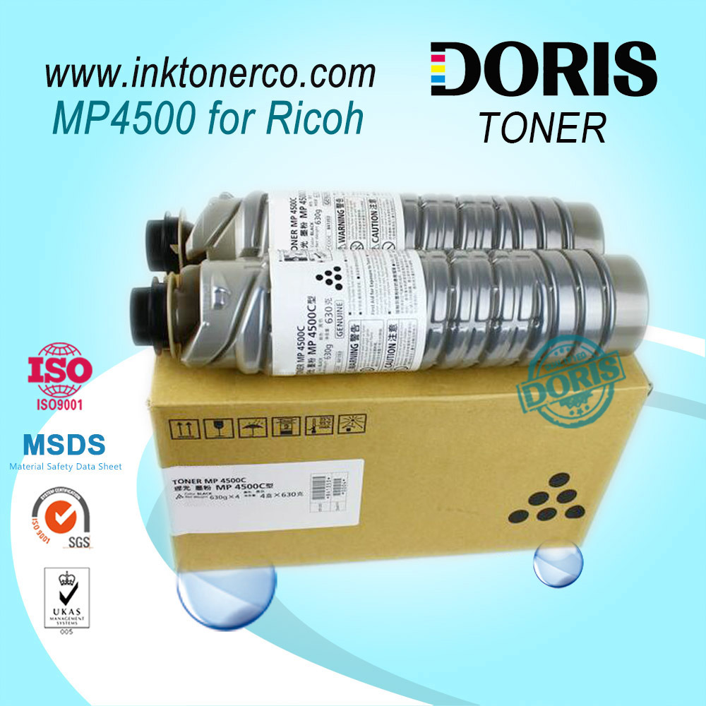 MP4500 MP 4500 Copier Toner for Ricoh Aficio MP4000 MP4500 MP5000