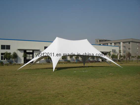 Twin-Pillar Star Tent (ST4363) , Stretch Tent