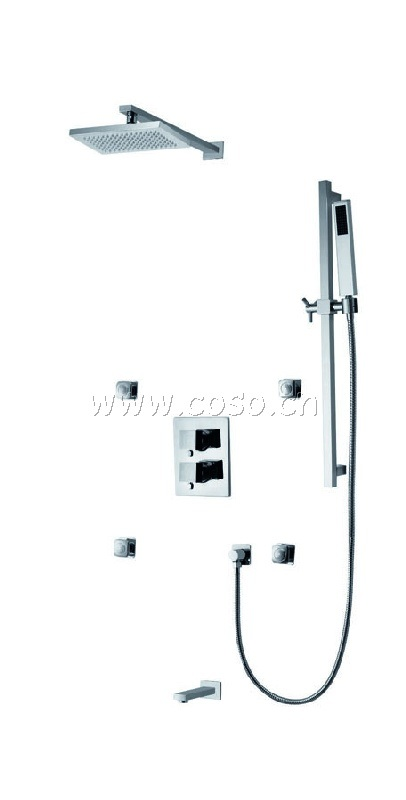 Concealed Style Brass Shower Set Shower Unit LC6133/022/8951