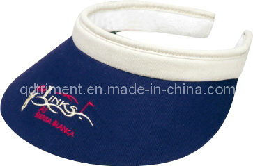 Comfortable Sweatband Long Bill Clip-on Custom Leisure Sun Visor (TRV015)