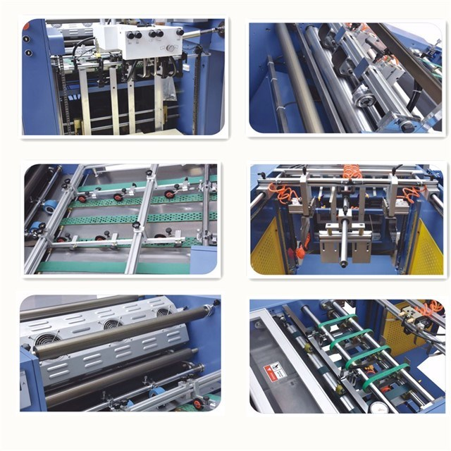 Yfma-650/740A Wenzhou New Star Electromagnetic Heating Distribution Paper High-Speed Laminator