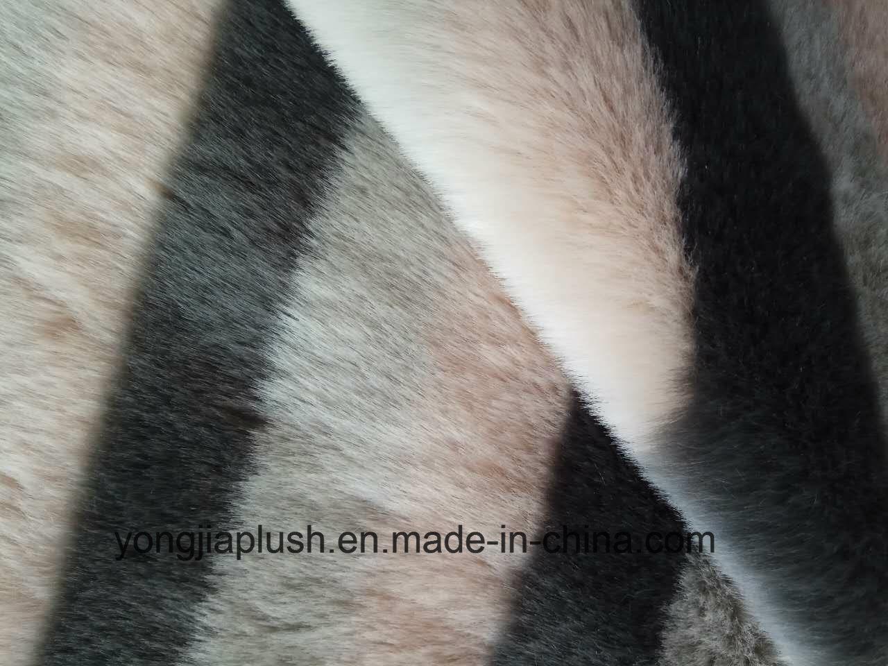 Laffey Red Arctic Fox Imitation Fur