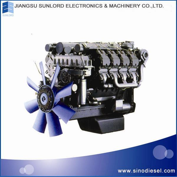Bf4m2012-12 Diesel Engine for Vehicle