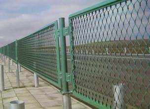 PVC Coated Expanded Wire Mesh Fence