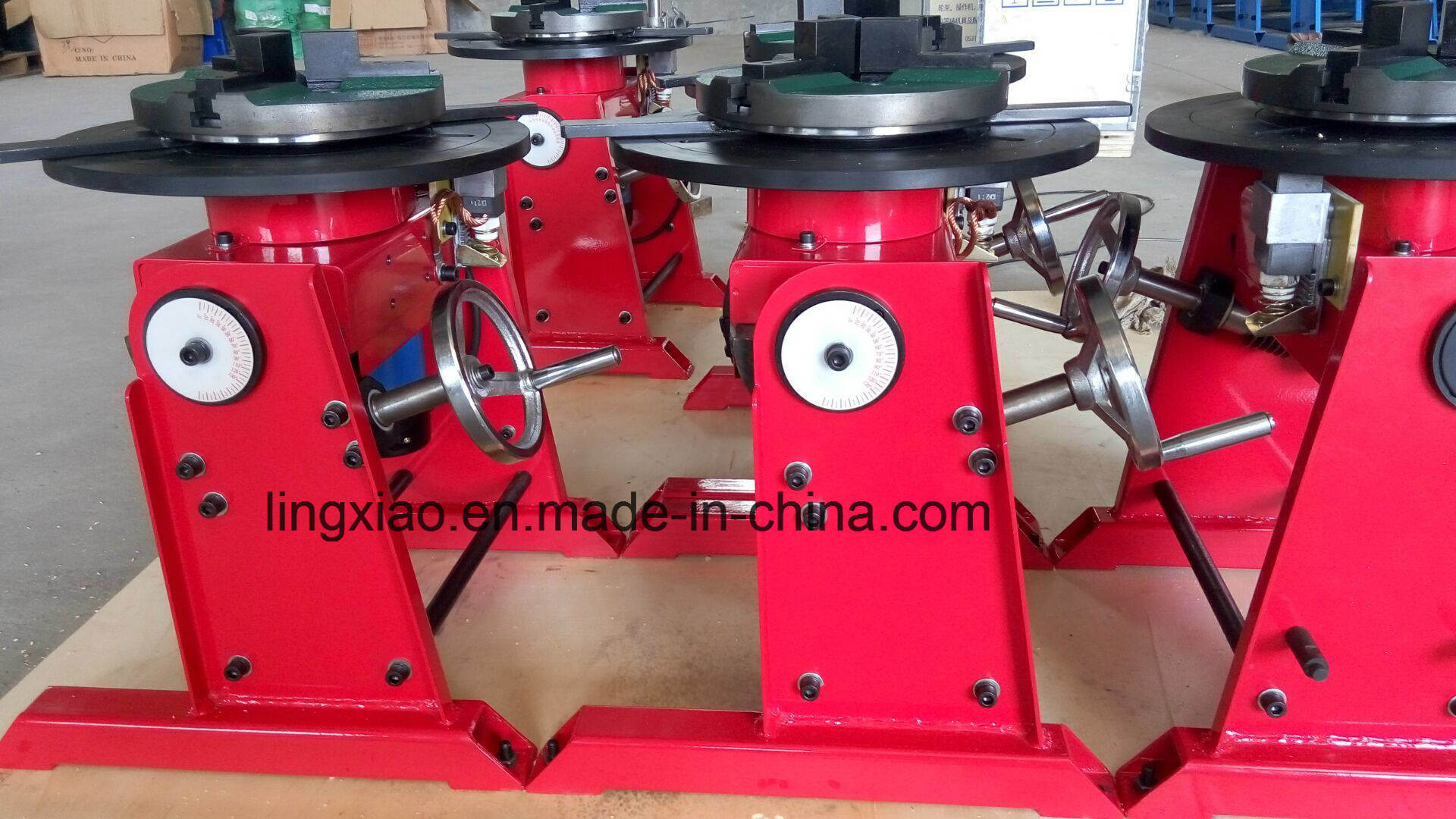 Ce Certified Girth Welding Positioner (special type: through center hole 140mm)