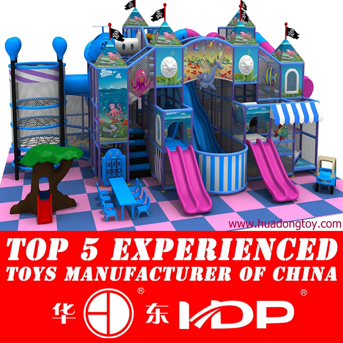 Hot Selling for Children Fun Park with Soft Toy Indoor Playground