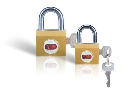 Imitate Brass Padlock Iron Locks (BG201)