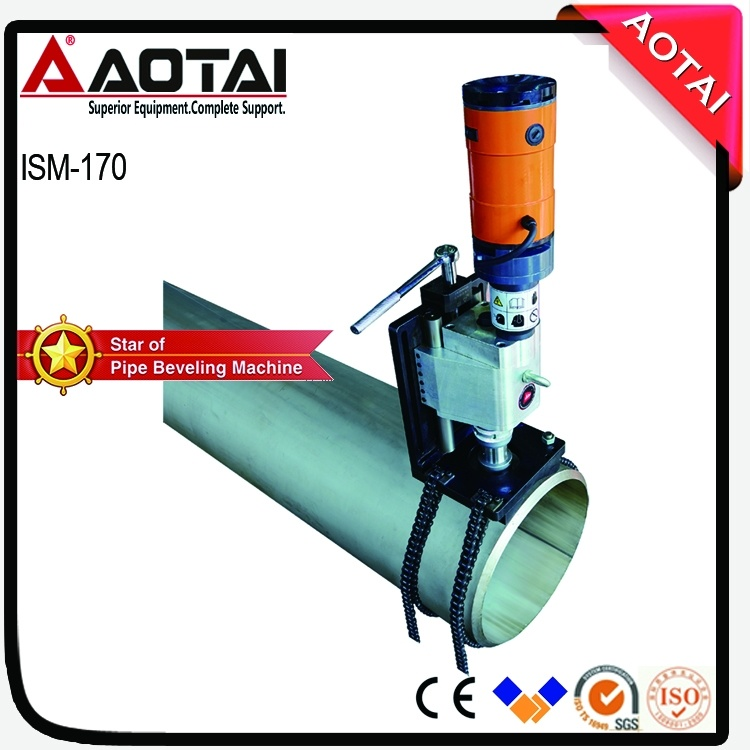 Pipe Cold Cutting Hole Drilling and Boring Machine