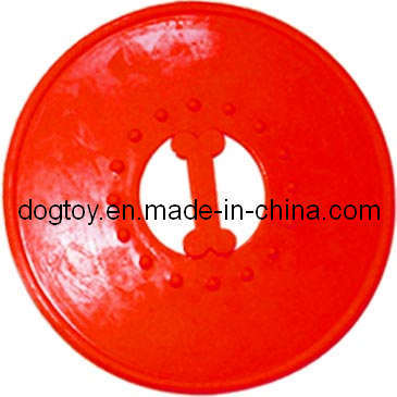 "9""in TPR Frisbee Dog Toy Pet Toy"