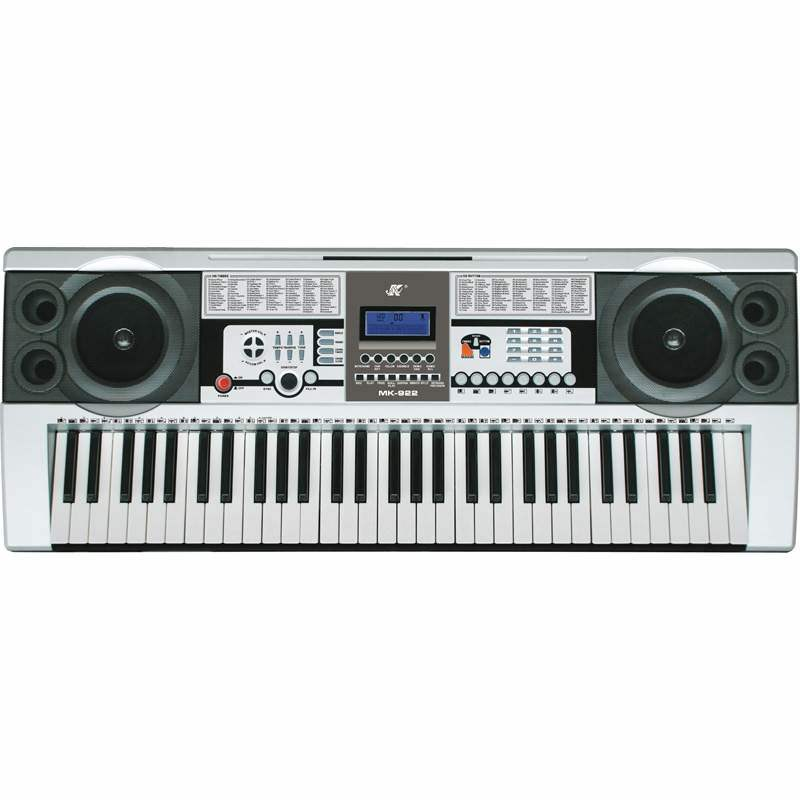 Electronic keyboard for typing