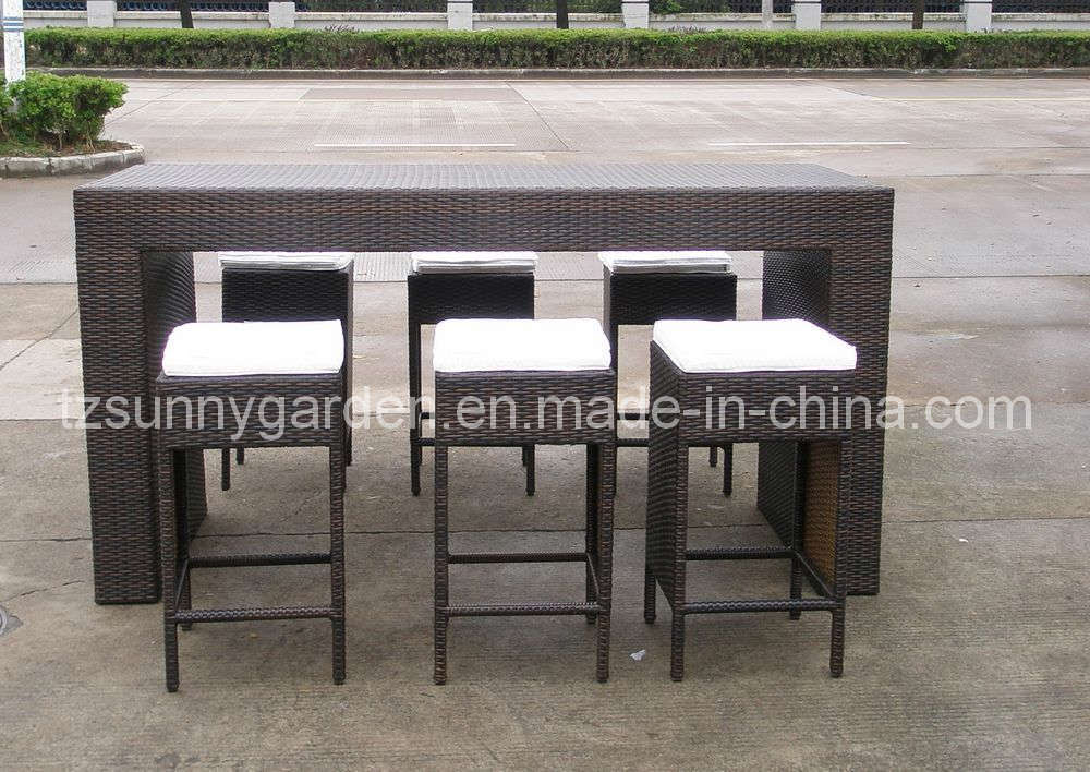 China Patio Bar Rattan Furniture Sg2010 China Bar Furniture Patio Furniture