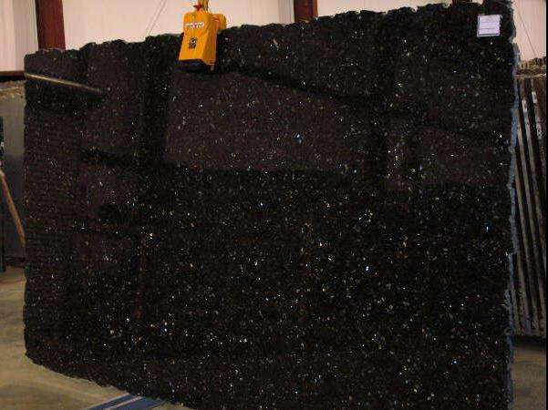 ... Granite Slab (WFCM006) - China Black Galaxy Granite Slab, Granite Slab