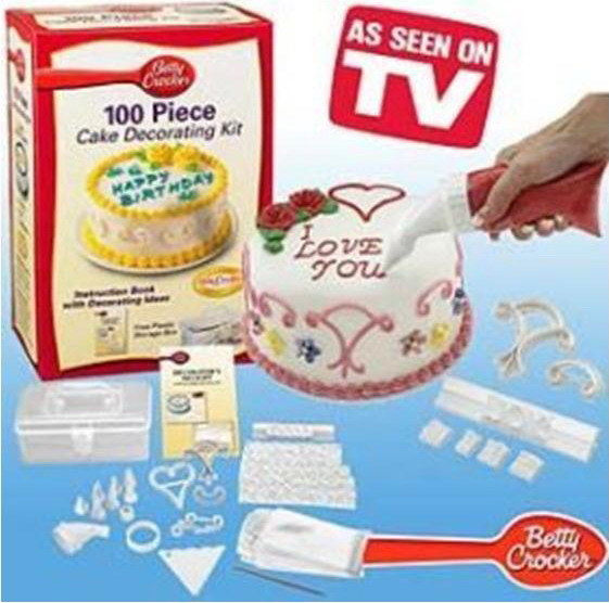Cake Design Starter Kit : China 100 Piece Cake Decorating Kit - China 100 Piece Cake ...