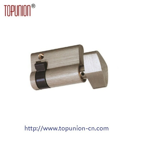 High Security Single Opening Brass Lock Cylinder with Knob