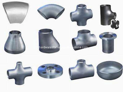 China butt welding seamless pipe fitting