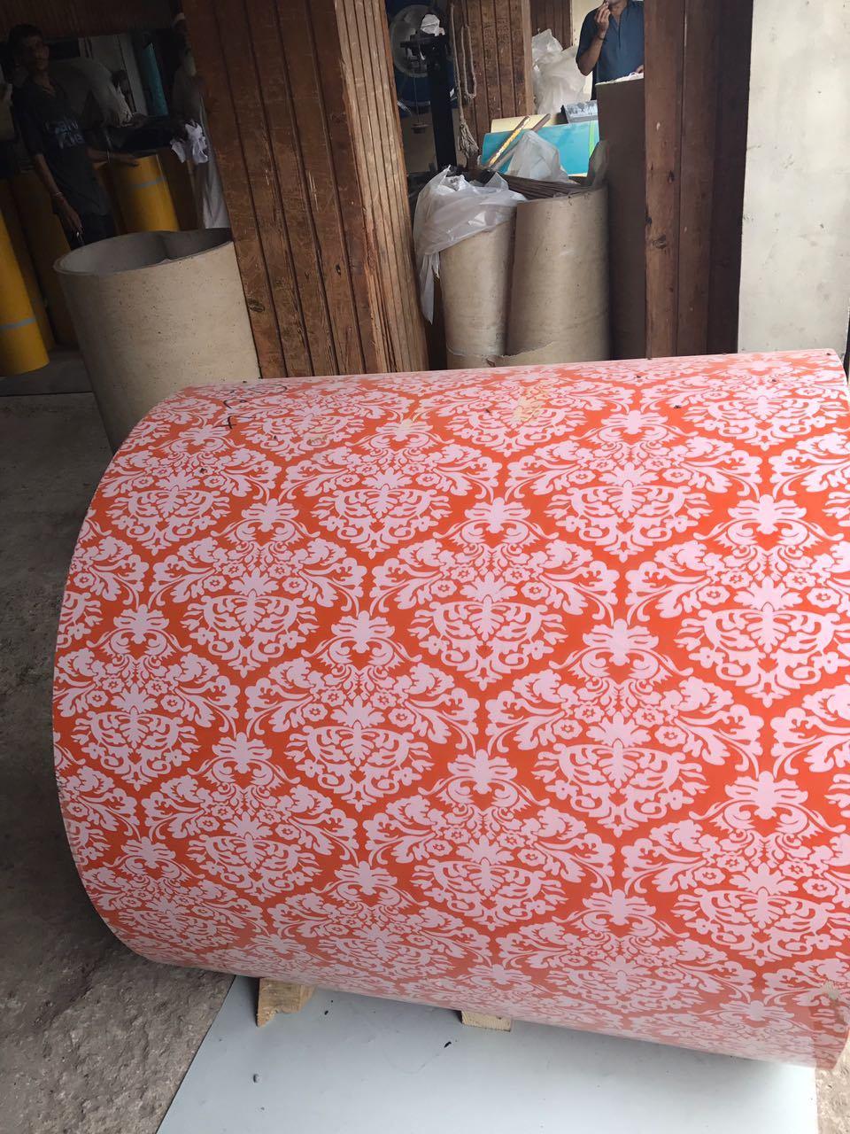 Flower Design PPGI Coil for Building Materials