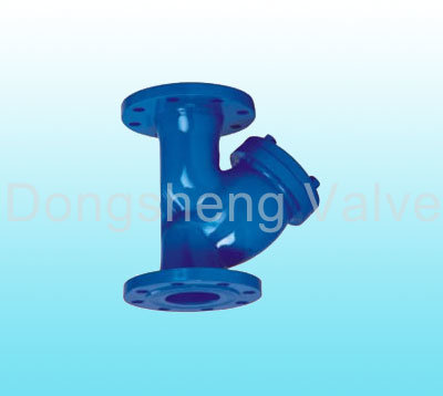 Cast Iron DIN Flanged Ends Y Type Strainer