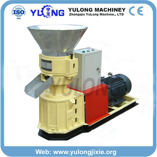 Small Wood/Feed/Fertilizer/Flat-Die Pellet Mill (SKJ-280)