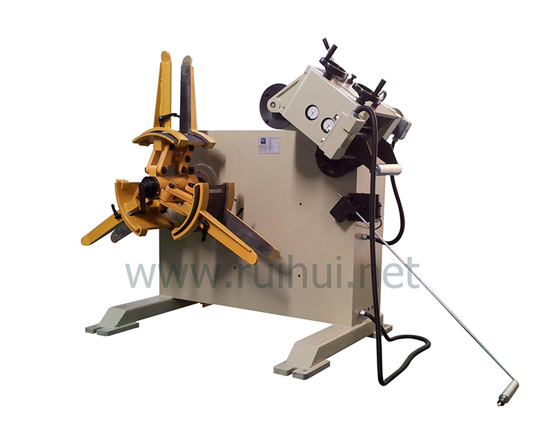 0.3-3.2mm Material Uncoiler with Straightener (RGL-200)
