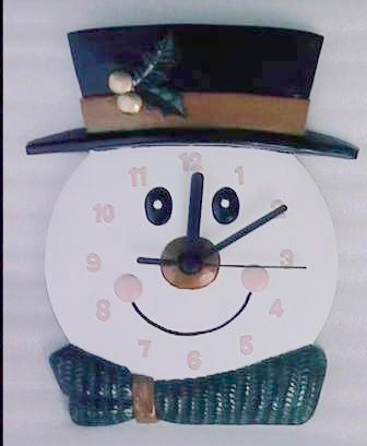 Crafts Gift / Best Christmas Present - Clock (Wl2009b)