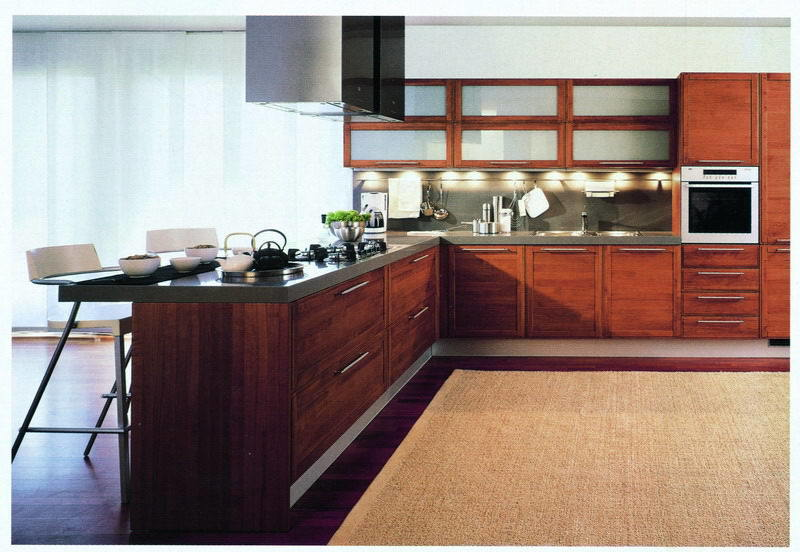 Veneer Kitchen Cabinet NW2 China Kitchen Cabinet Veneer Wood