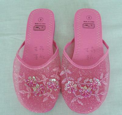Beaded Sandals Women on Beaded Slipper 04f0103 China Ladies Slipper