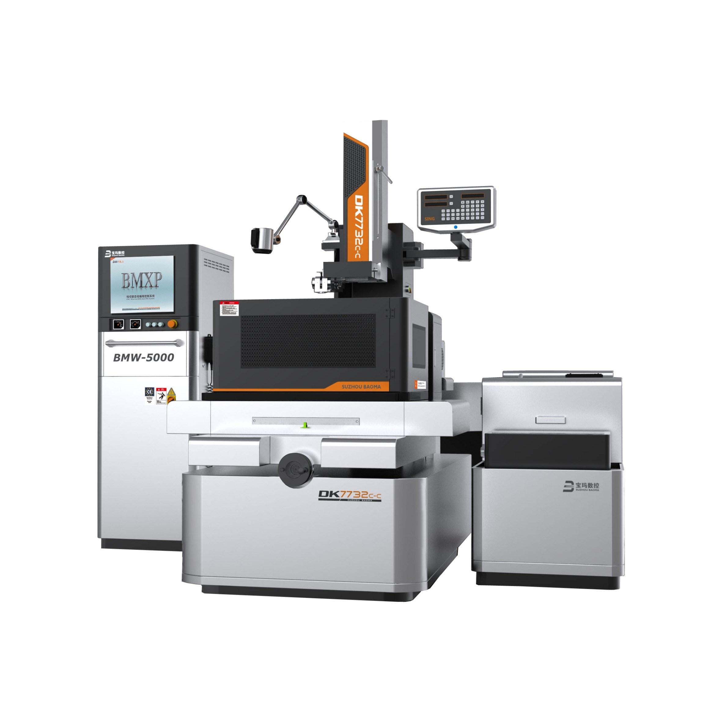EDM Wire Cut Machine Dk7732c-CH