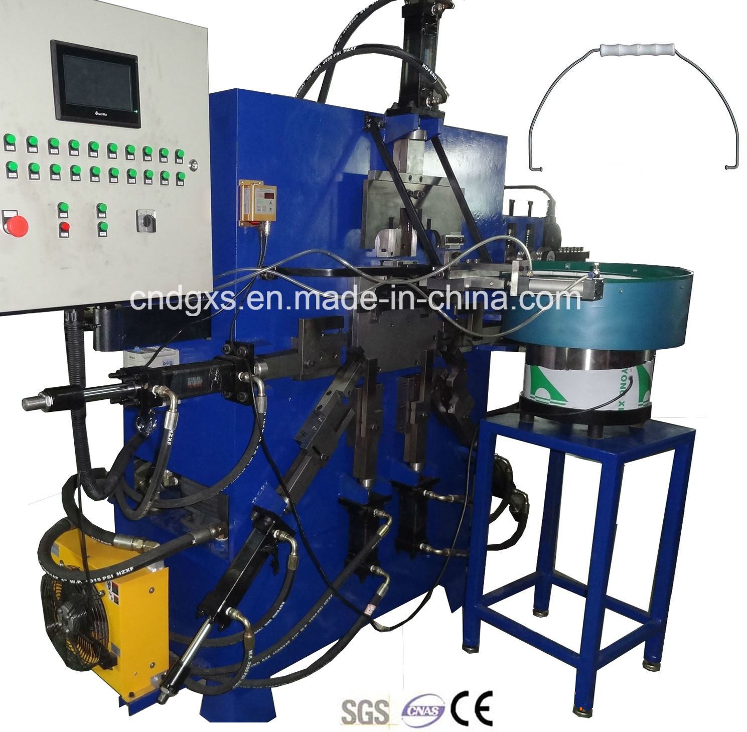 Automatic Meal Plastic Bucket Handle Making Machine